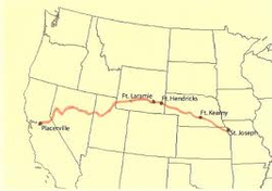 Travel Routes on Native Americans On The Oregon Trail